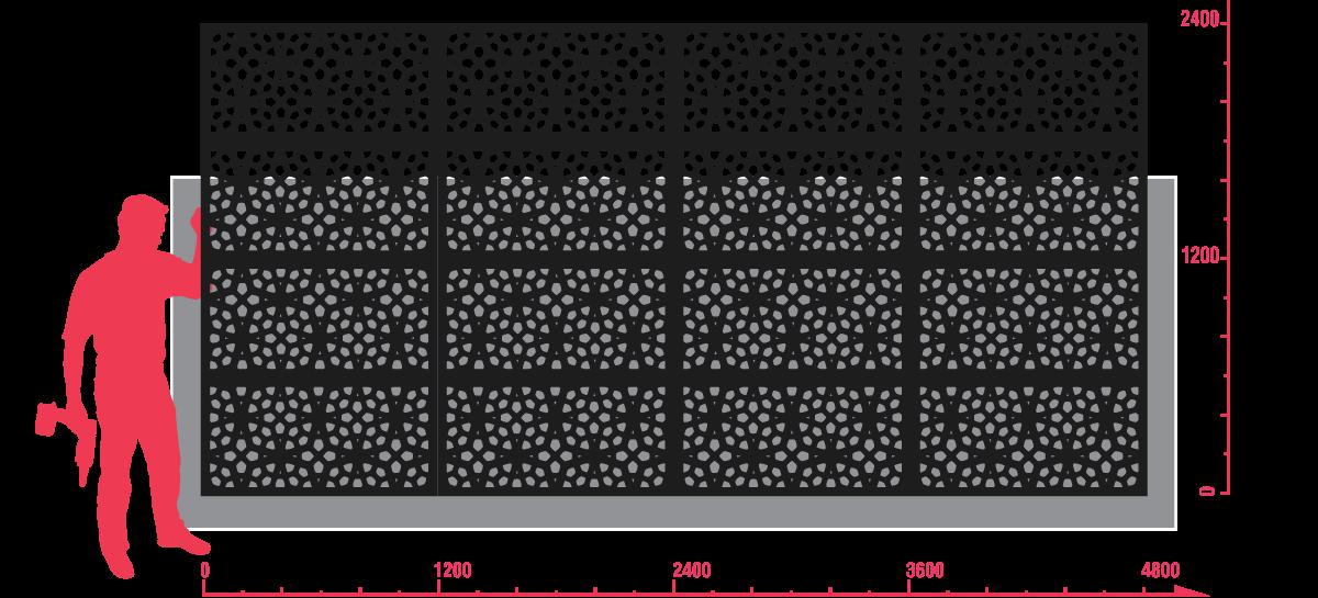 MARAKESH™ 80% Modular Example