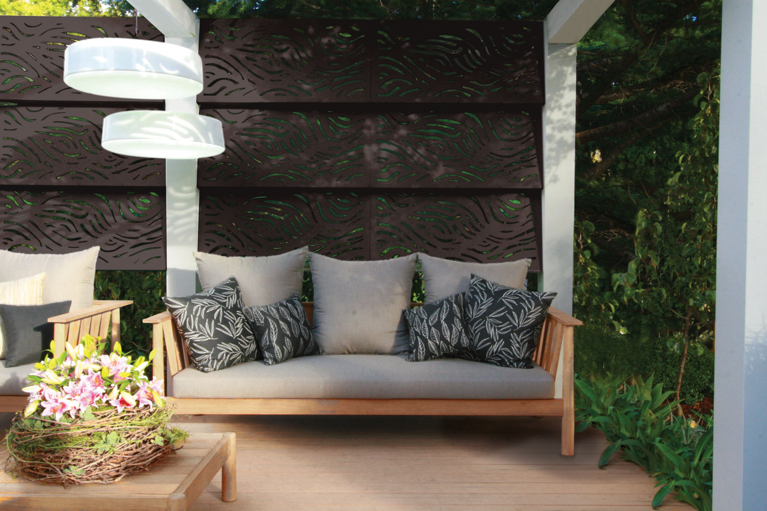 Wooloomai Outdeco Outdoor Screens