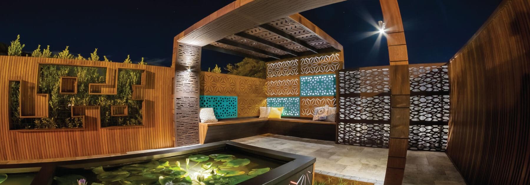 Outdeco Garden Screen Outdoor Decorative Amp Privacy Screening